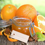 Orange jam Royalty Free Stock Image