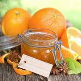 Orange jam. With star anise Royalty Free Stock Image