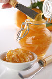 Orange jam Royalty Free Stock Photos