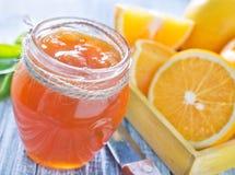 Orange jam Royalty Free Stock Images