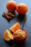 Orange jam Royalty Free Stock Photo