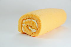 Orange jam roll Royalty Free Stock Images