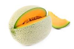 Orange japonaise de melon Photographie stock