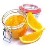 Orange jelly Royalty Free Stock Image