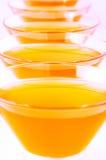 Orange Jelly Vertical Close-up Stock Photo