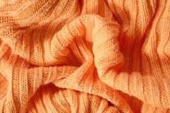 Orange jersey. The part of orange jersey Royalty Free Stock Photos