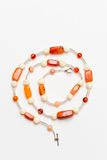 Orange jewelery Stock Image