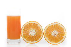Orange juice 100 Royalty Free Stock Image