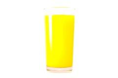 Orange juice. Isolated on white Royalty Free Stock Image