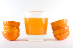 Orange Juice. Fresh and organic orange juice Stock Photography