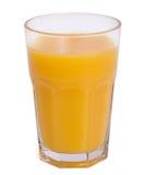 Orange juice. A glass of orange juice isolated on a white background Stock Photo