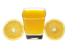 Orange juice. Royalty Free Stock Photos