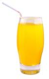 Orange juice. On white background Royalty Free Stock Photos