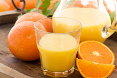Orange juice Stock Image