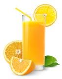 Isolated orange juice royalty free stock image