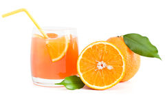 Orange juice. Royalty Free Stock Image