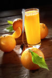 Orange Juice. With beautiful setup