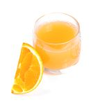 Orange & juice Royalty Free Stock Photos