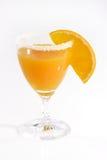Orange Juice. Fresh orange juice with orange slice stock photo