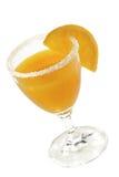 Orange-Juice. Fresh orange juice with orange slice stock photos