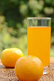 Orange Juice. Stock Photos