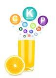 Orange juice Stock Image