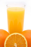 Orange Juice. Freshly squeezed orange juice composition stock photography