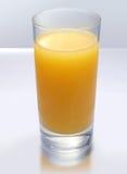 Orange Juice. A cold glass with orange juice Royalty Free Stock Image