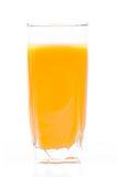 Orange juice. Isolated on the white background Stock Image