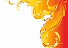 Orange juice background. Royalty Free Stock Image