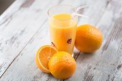 Orange juice is the best breakfast Stock Photography