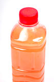 Orange juice bottle Royalty Free Stock Images