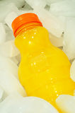 Orange Juice in a Bottle Royalty Free Stock Image