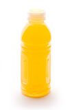 Orange juice bottle Stock Images