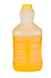 Orange juice in a bottle Stock Photos