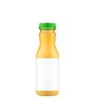 Orange juice bottle Royalty Free Stock Photography