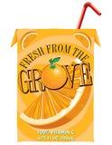 Orange Juice Box Royalty Free Stock Photo