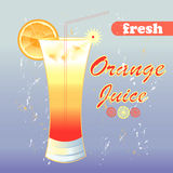 Orange juice Royalty Free Stock Photo