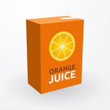 Orange juice royalty free illustration