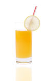 Orange Juice(with clipping path) royalty free stock photo