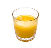 Orange Juice with Clipping Path Stock Image