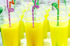 Orange juice drinks Stock Photo