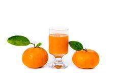 Orange juice and fruit Royalty Free Stock Image