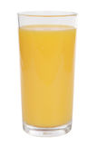 Orange juice in a glass Stock Photography