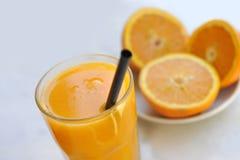 Orange Juice. Glass of fresh Orange Juice Royalty Free Stock Images