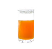 Orange juice glass Royalty Free Stock Image