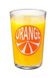 Orange Juice Glass isolated Royalty Free Stock Photography