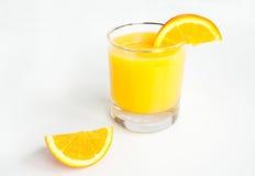 Orange Juice Glass Royalty Free Stock Photos