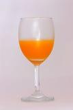 Orange juice in glass Stock Photography