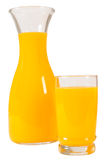 Orange juice. Isolated Royalty Free Stock Photo